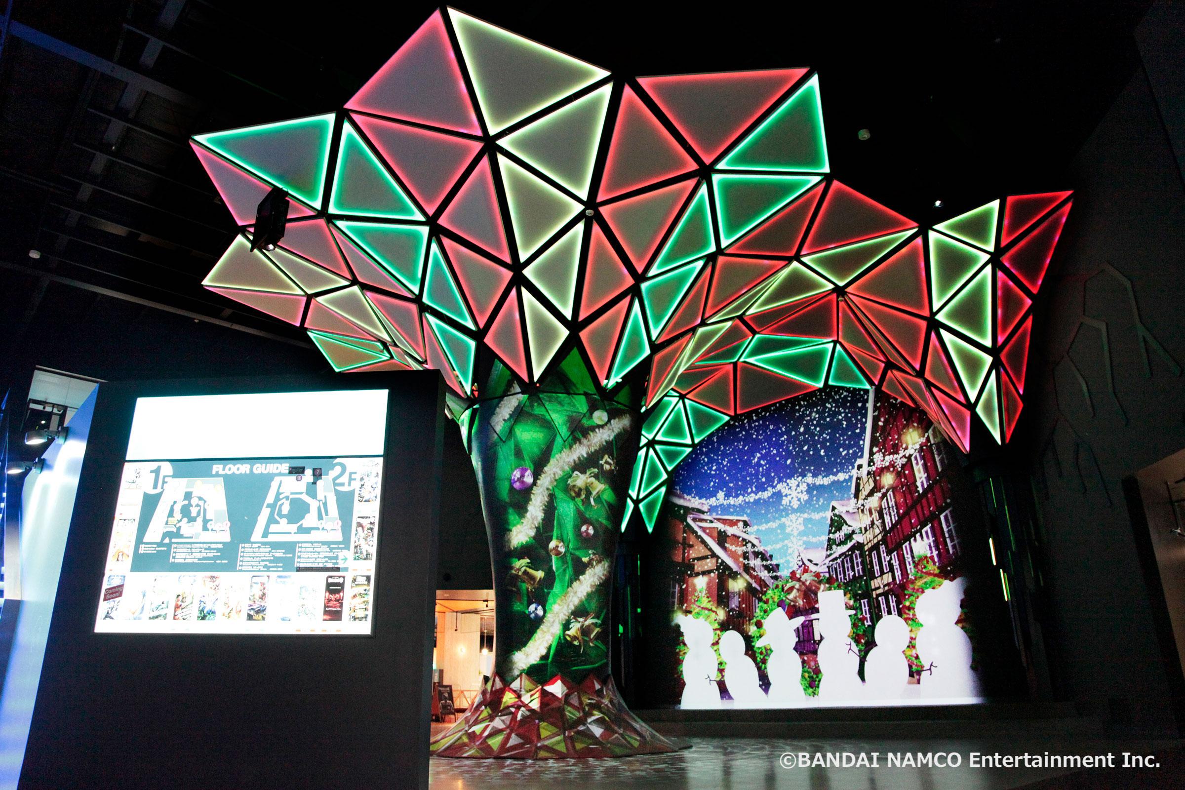 VR ZONE SHINJUKUのクリスマス演出