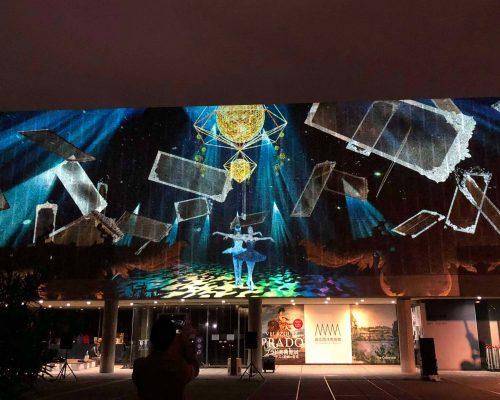 国立西洋美術館 <上野の森バレエホリデイ> プロジェクションマッピングイベント