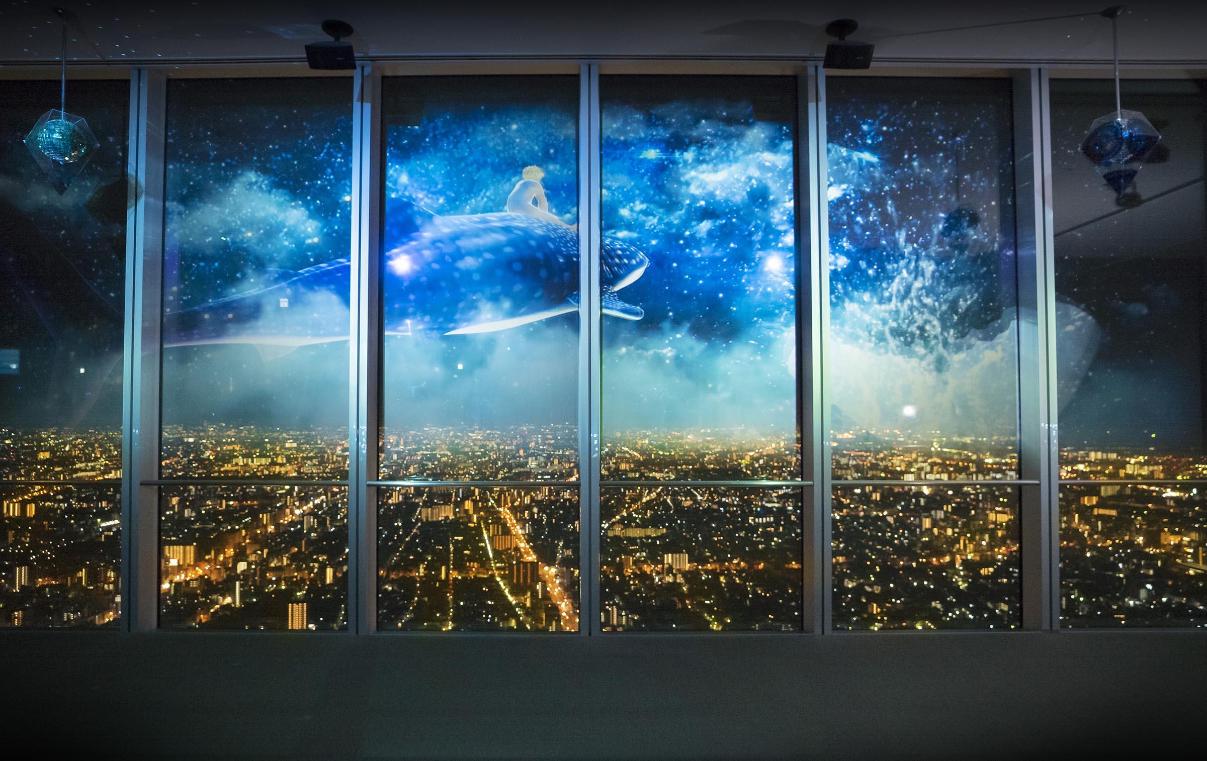 あべのハルカス ハルカス300展望台「CITY LIGHT FANTASIA BY NAKED –Anniversary–」