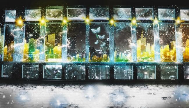 東京タワー メインデッキ「TOKYO TOWER CITY LIGHT FANTASIA ~ White Night Story ~」