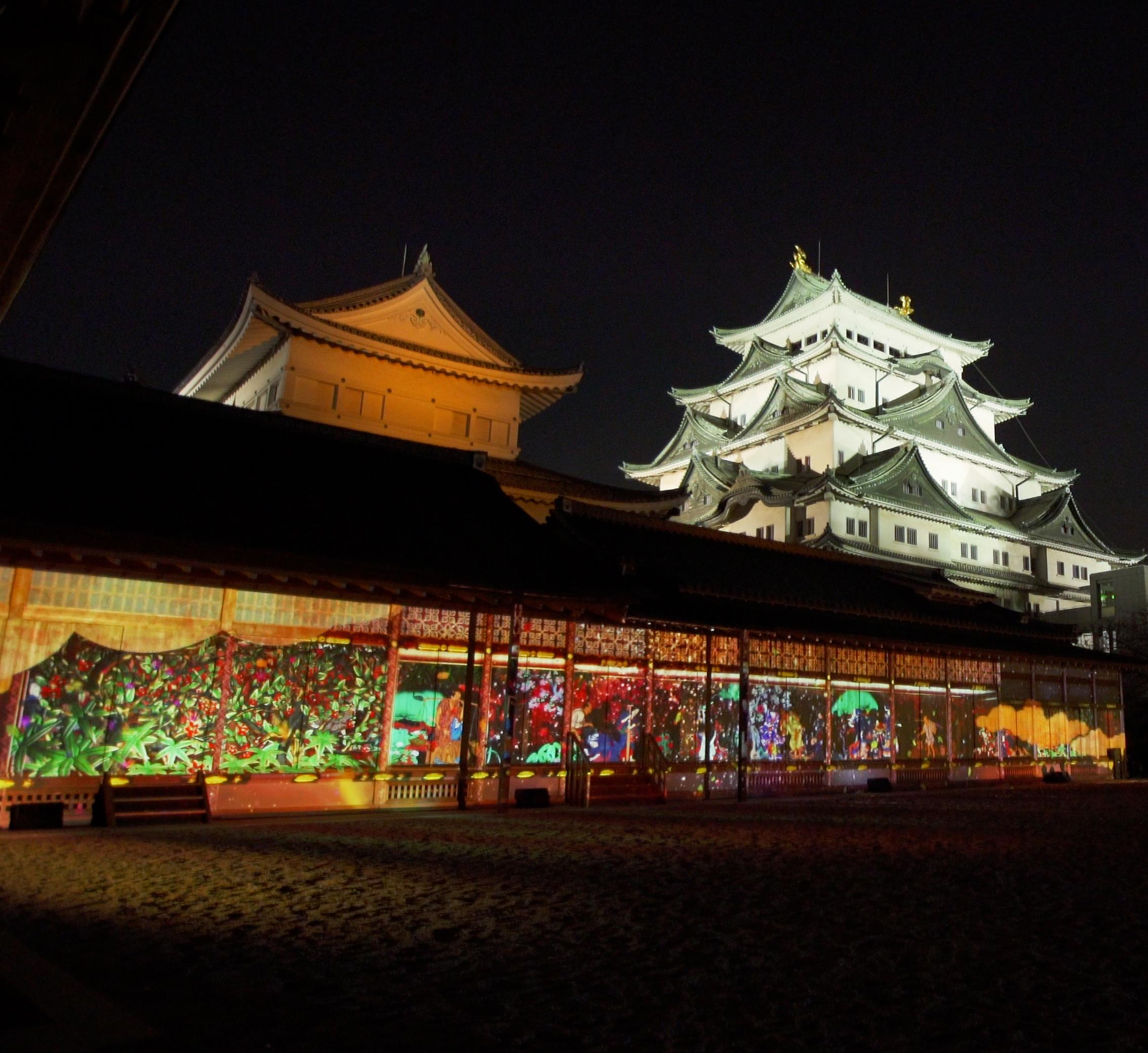名古屋城「NIGHT CASTLE OWARI EDO FANTASIA」