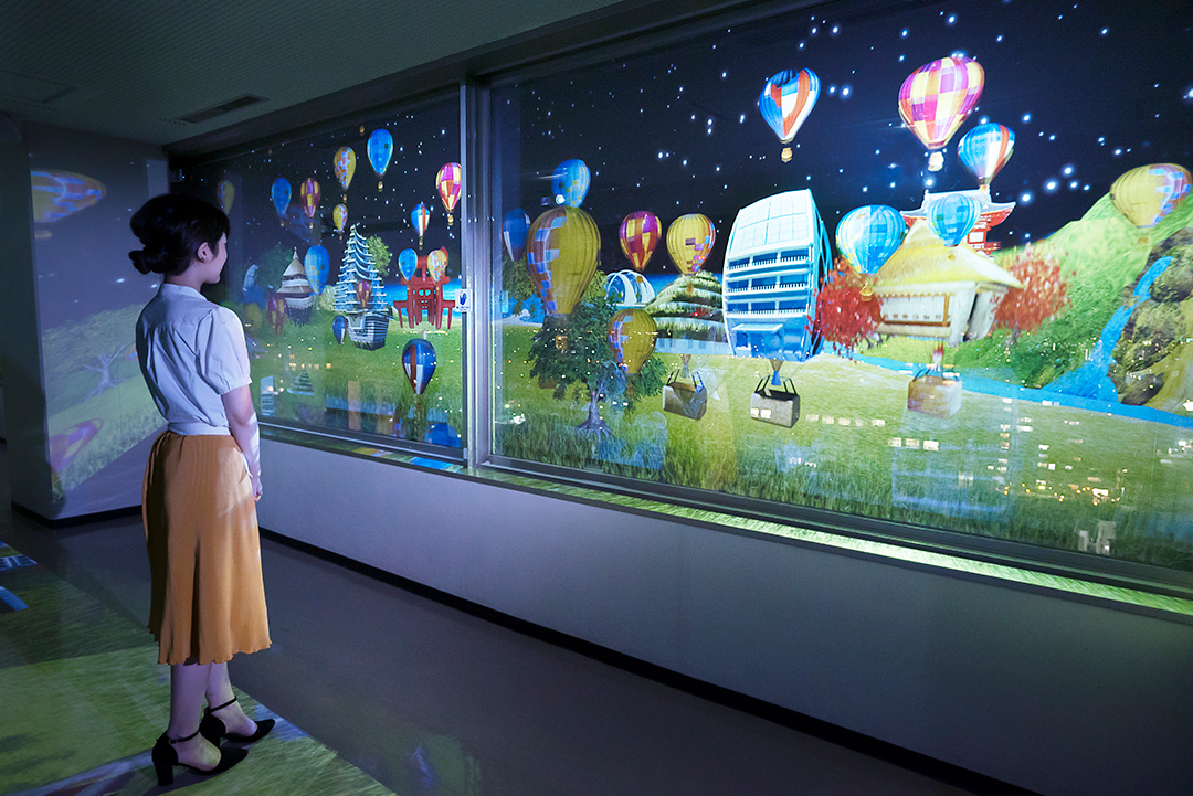 佐賀県庁「アート県庁プロジェクト 夜空のタイムトラベル」