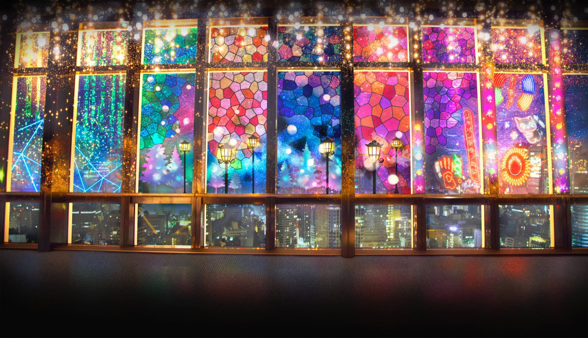 TOKYO TOWER CITY LIGHT FANTASIA -REIWA Lights in TOKYO-