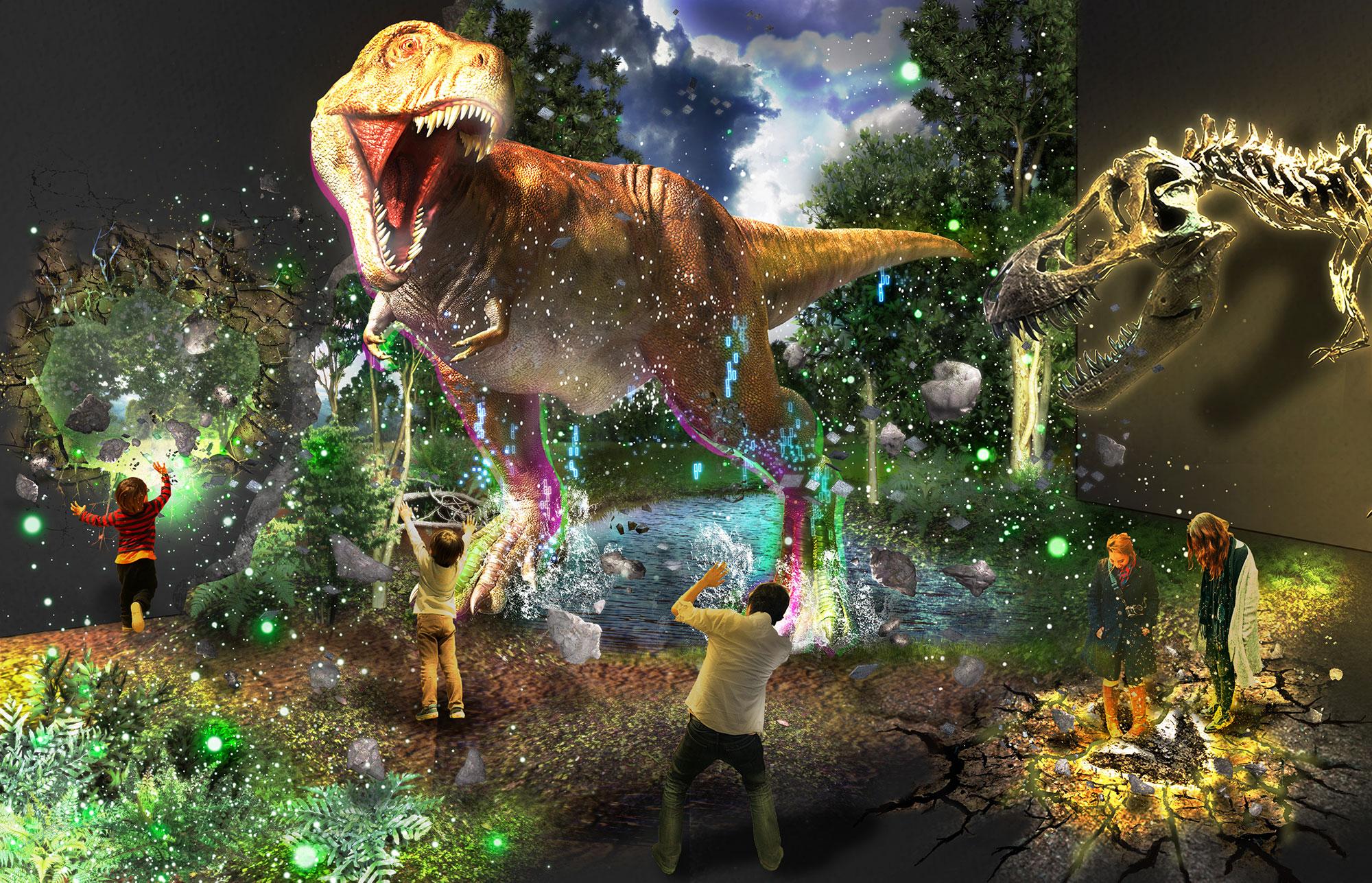 マンダイプレゼンツ ティラノサウルス展 ~T.rex驚異の肉食恐竜~