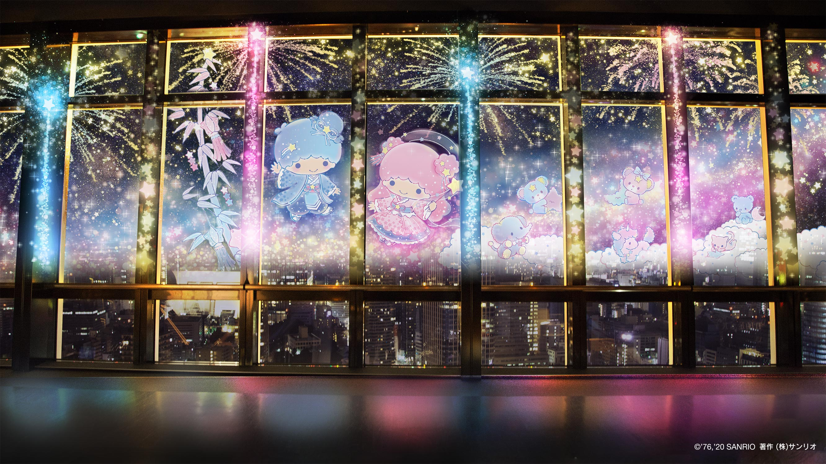 TOKYO TOWER CITY LIGHT FANTASIA -Twinkle color miracle☆-