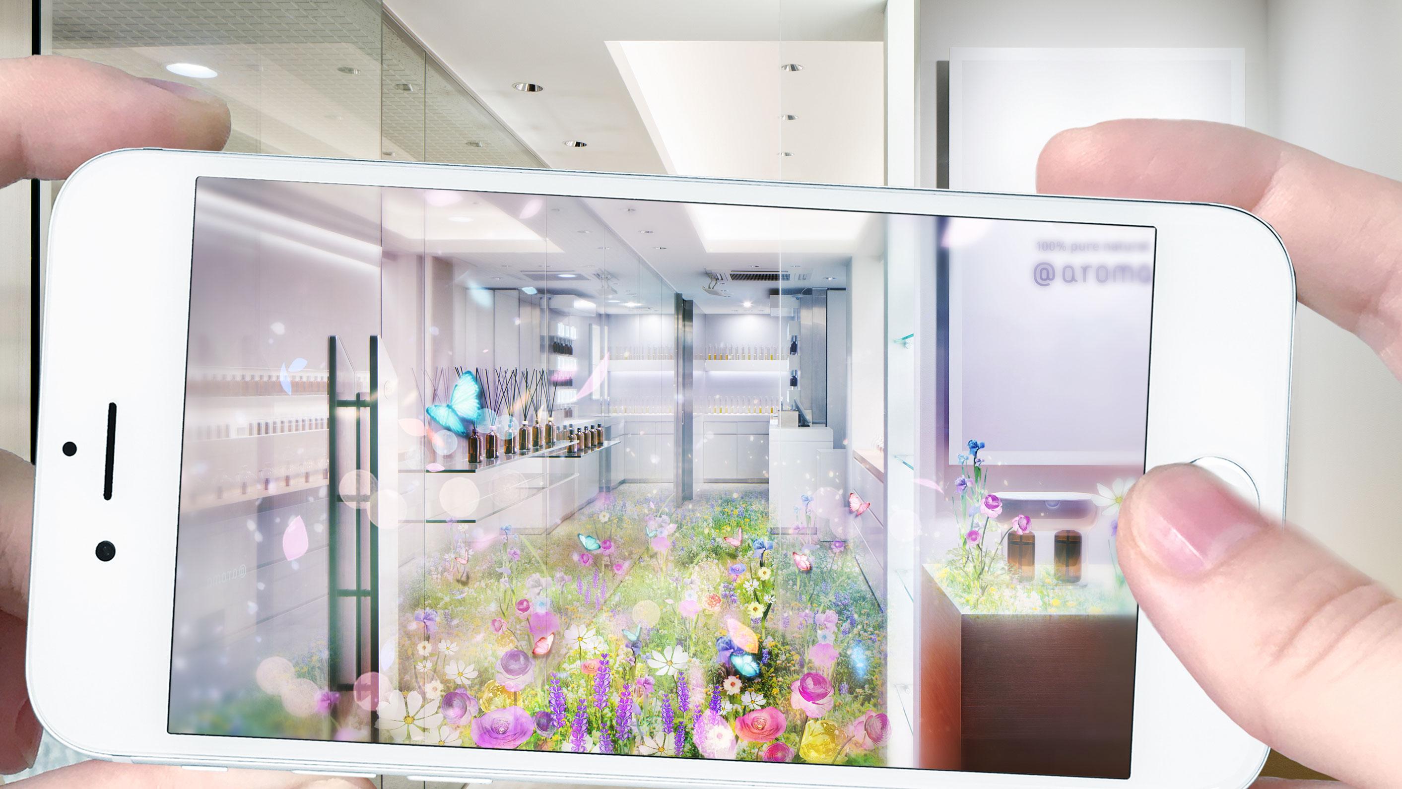 FLOWERS BY NAKED AR|アットアロマ神宮前店