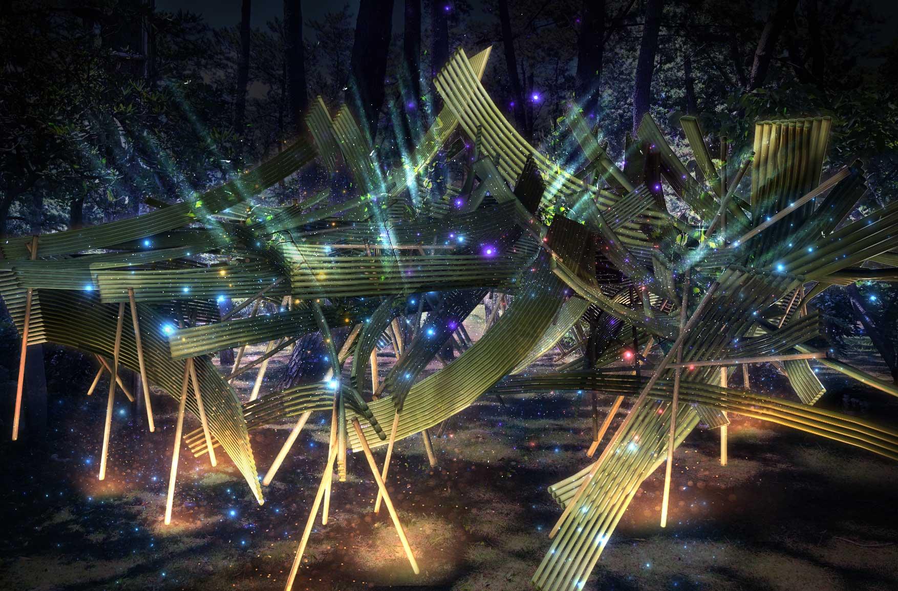 草月×NAKED《一期一会の宇宙》