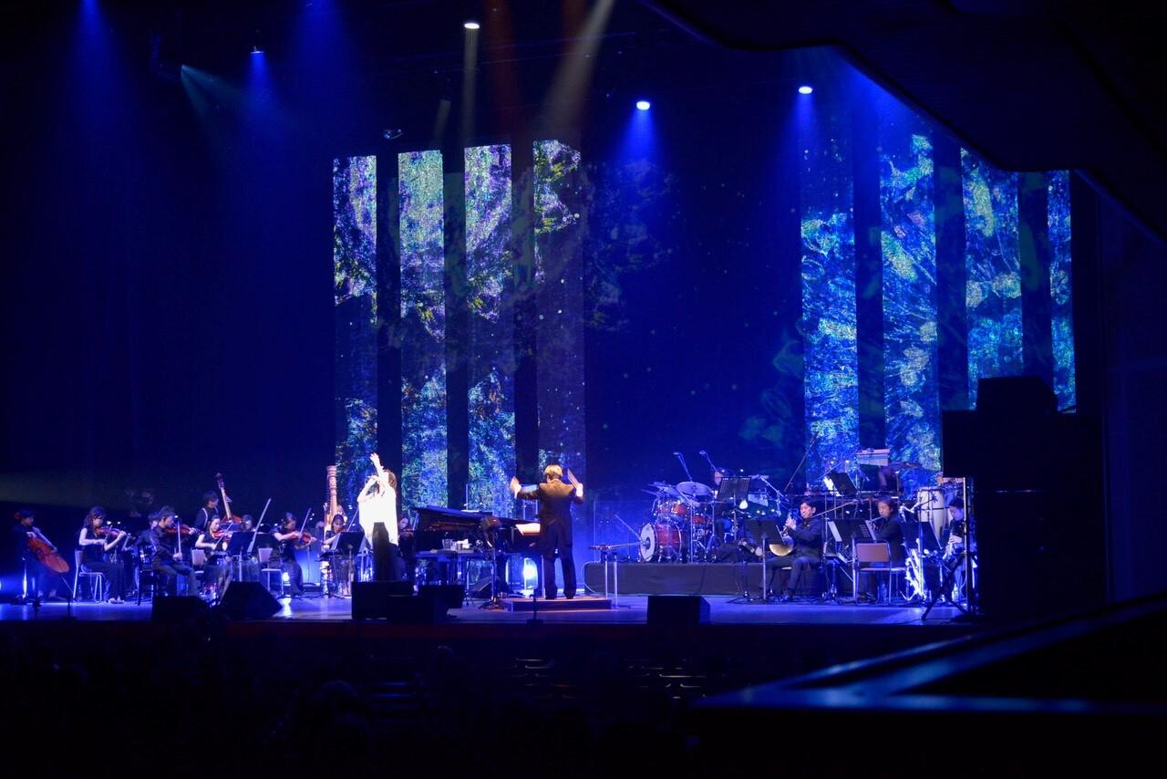 billboard classics MIKI IMAI 35th Anniversary premium ensemble concert 映像演出