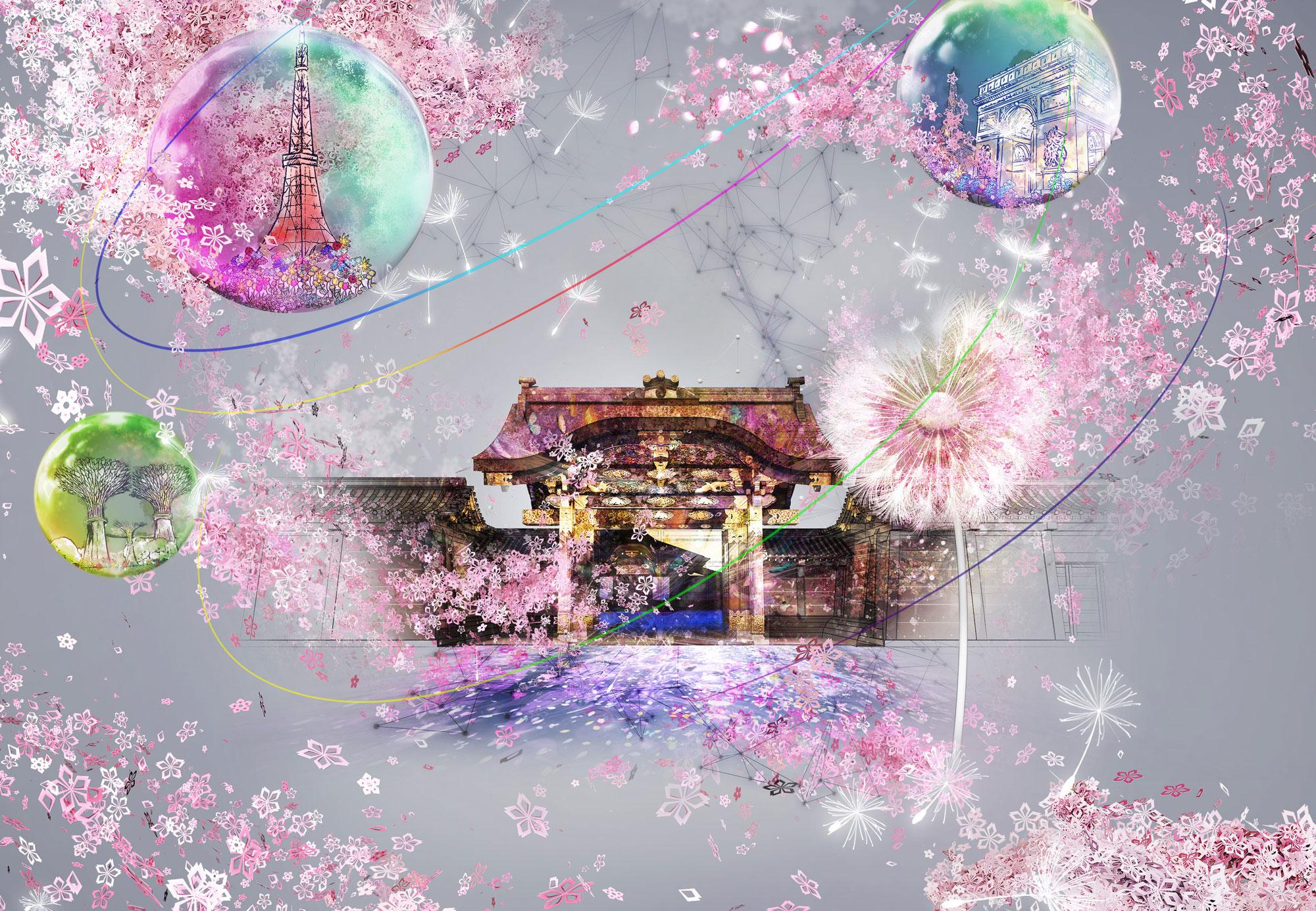 NAKED FLOWERS 2021 −桜− 世界遺産・二条城
