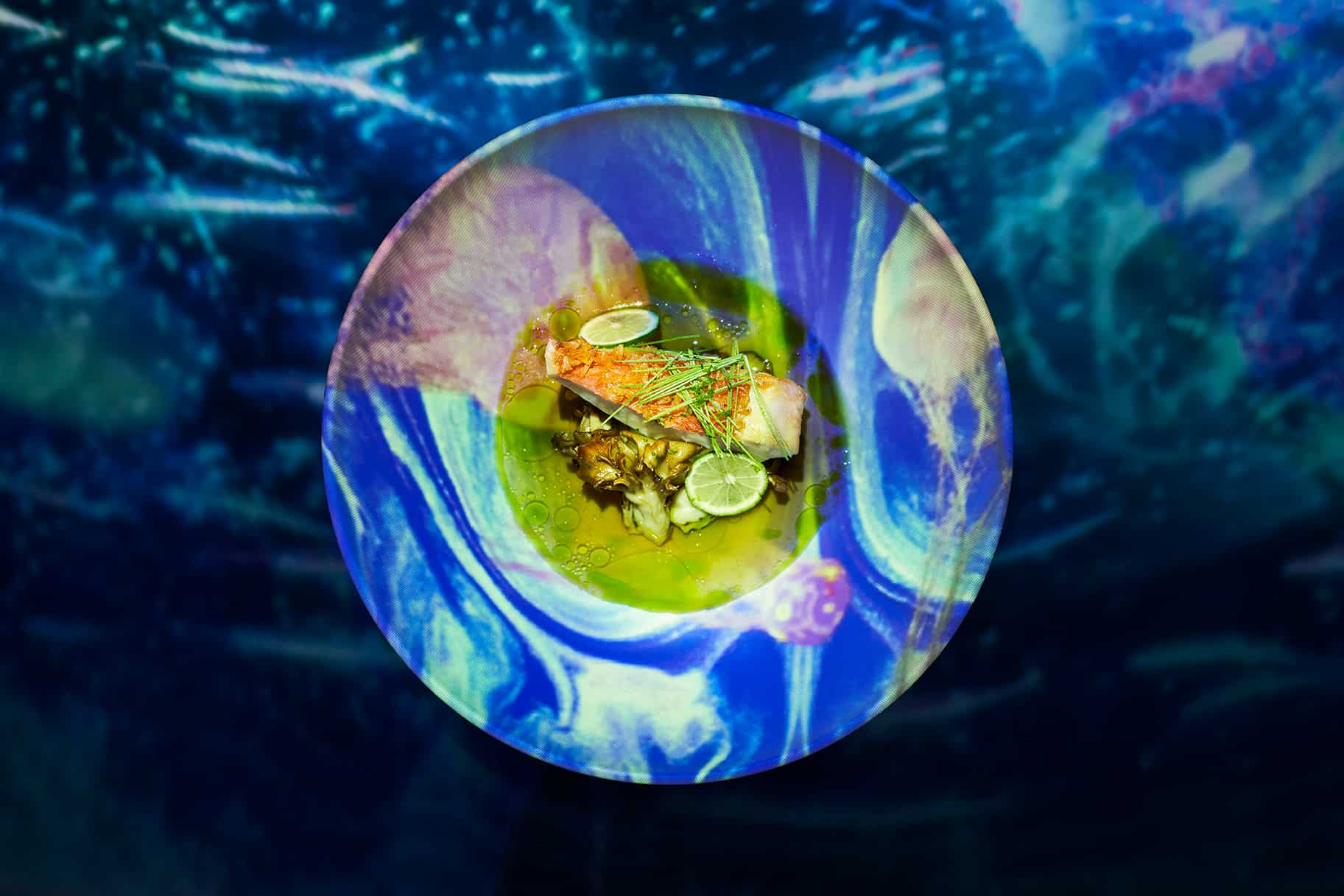釣り金目鯛 姫竹 コンソメドポワソン