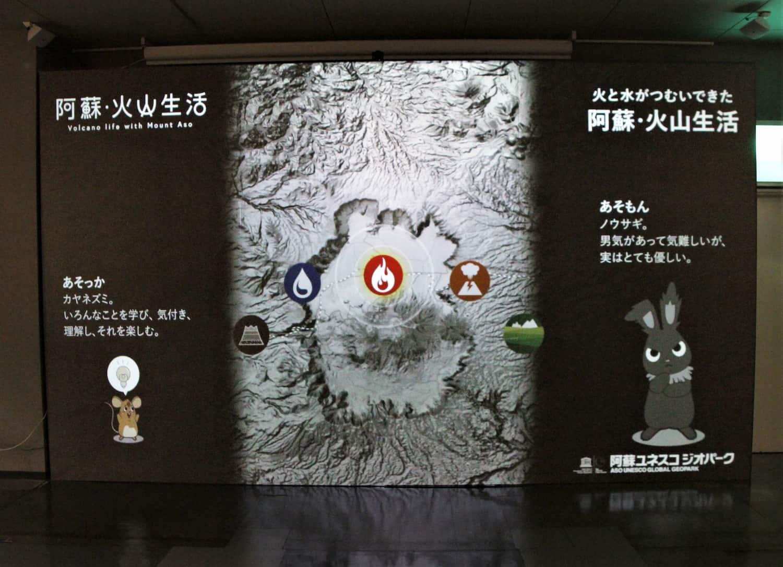 企画展「火と水がつむいできた阿蘇・火山生活」
