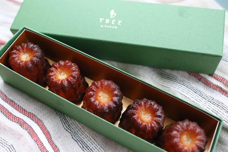 TREE自家製カヌレギフトボックス(5個入り) ¥1080