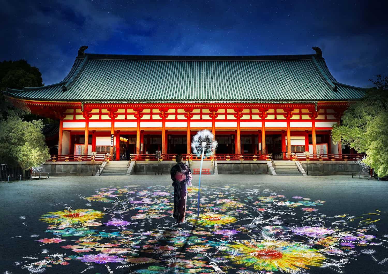 京都・平安神宮(重要文化財)